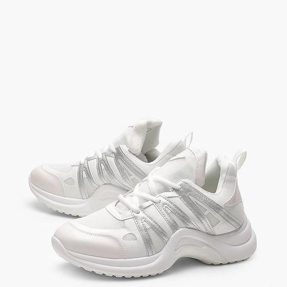 Women's Shoes Boohoo White Shoes Size 7 Heels